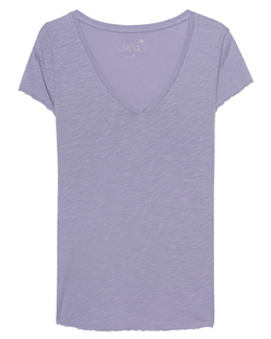JUVIA V-Neck Basic Lavender