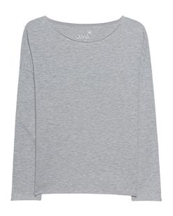 JUVIA Sweater Basic Grey Melange