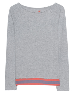 JUVIA Sweater Stripe Grey Melange