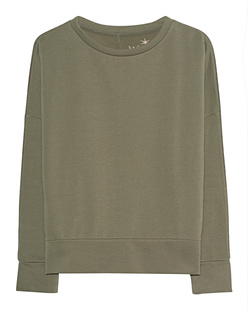 JUVIA Pearls Sweater Khaki