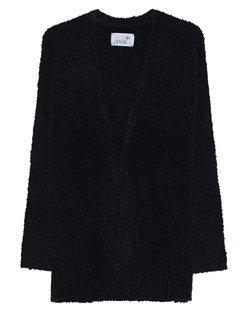JUVIA Bouclé Knit Black