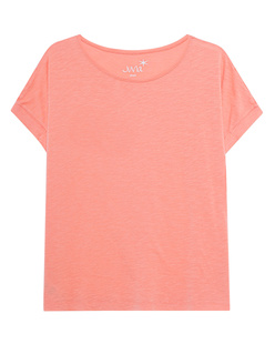 JUVIA Crew Neck Boxy Flamingo