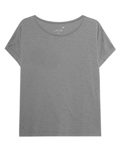 JUVIA Crew Neck Boxy Elephant Grey