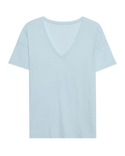 JUVIA Boxy Vneck Light Blue