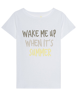 JUVIA Wake Me Up When Its Summer White