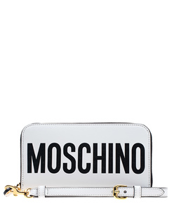 MOSCHINO Wallet White