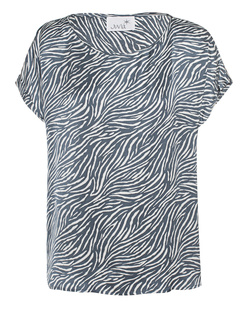 JUVIA Oversize Zebra Deep Blue