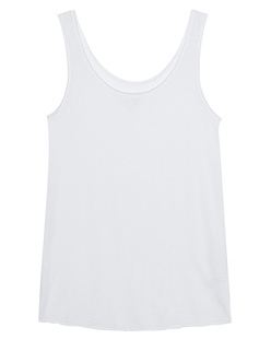 JUVIA Basic Tank White