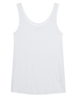 JUVIA Basic Tank White