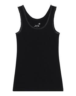 JUVIA Tank Fringe Black