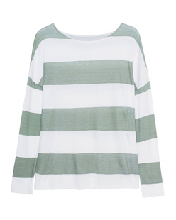 JUVIA Cotton Stripes Green