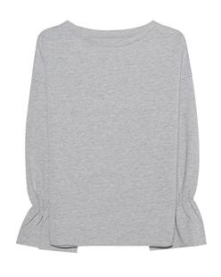 JUVIA Volant Sleeves Grey