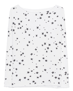 JUVIA Stars Allover White