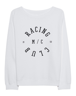 "JUVIA Fleece ""Racing Club"" White"