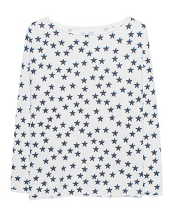 JUVIA Fleece Shadow Stars White
