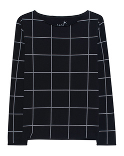 JUVIA Fleece Square Black