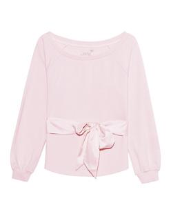 JUVIA Bow Sweat Blushed Pink