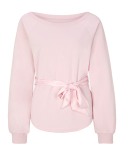 JUVIA Bow Sweat Pale Pink