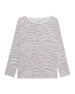 JUVIA Zebra Pattern Off-White