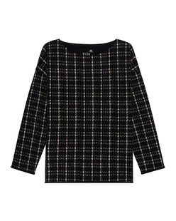JUVIA Check Oversize Black