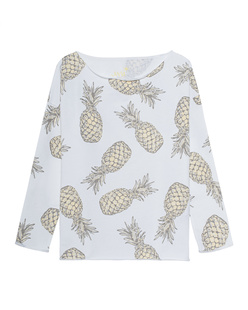 JUVIA Casual Ananas Yellow White