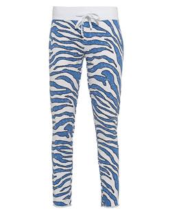 JUVIA Zebra Ocean Blue White