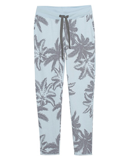 JUVIA Wide Palms Light Blue