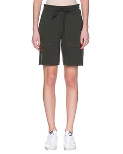 JUVIA Fleece Shorts Dark Olive