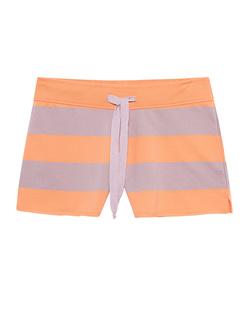 JUVIA Shorts Stripes Mandarine