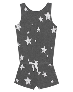 JUVIA Stars All Over Grey