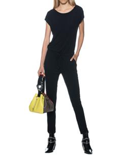 JUVIA Jumpsuit Jersey Black
