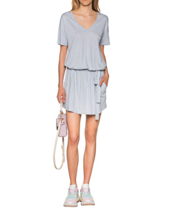 JUVIA Belted Short Ice Blue