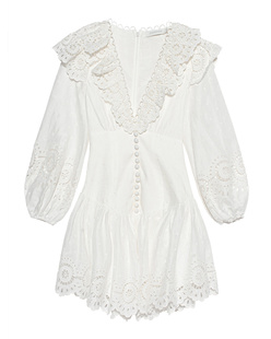 ZIMMERMANN Mini Lace White