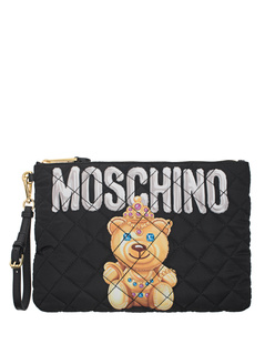 MOSCHINO Quilted Black