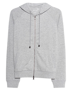 JUVIA Zip Hood Light Grey