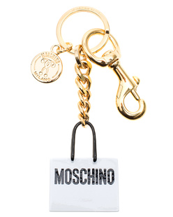 MOSCHINO Bag Key Chain Gold