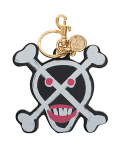 MOSCHINO Skull Charm Black