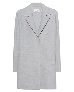 JUVIA Cropped Coat Grey