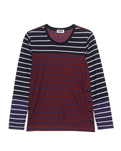 SONIA BY SONIA RYKIEL Stripe Brownie Navy Indigo