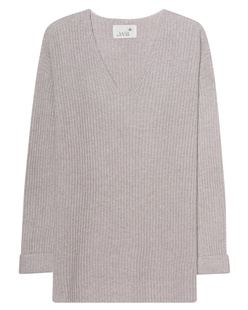 JUVIA V Neck Cashmere Grey