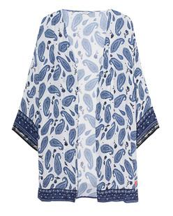 FROGBOX Kimono Paisley Blue