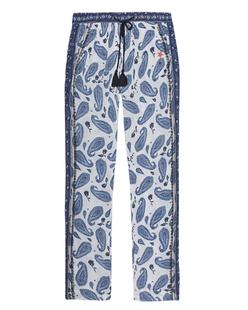 FROGBOX Pants Paisley Blue