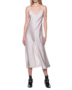 ROTATE Slip Dress Sand