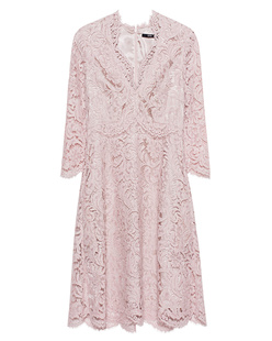 SLY 010 Antique pink lace dress