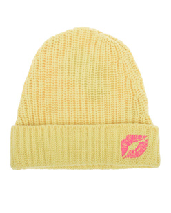 LAUREN MOSHI Blix Cashmere Slouch Pink Kiss Yellow