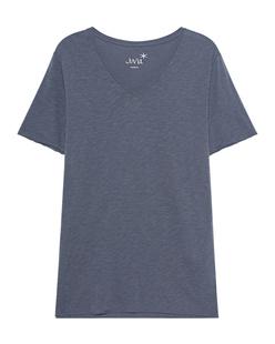 JUVIA Vneck Shirt Anthracite
