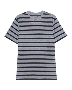 JUVIA Stripe Shirt Grey