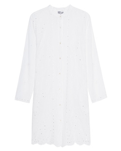 JULIET DUNN Embroidered Tunic Short White