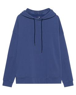 JUVIA Casual Fit Hood Galaxy Blue