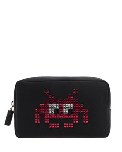 ANYA HINDMARCH Space Invaders Make-Up Black